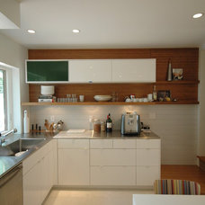 Contemporary Kitchen by Hurst Construction, Inc