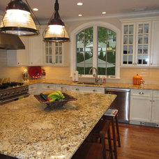Traditional Kitchen by Ideal Tile of Stamford