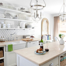 Transitional Kitchen by Facings of America, Inc