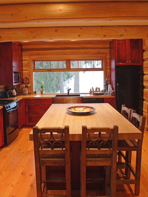 log homes kitchens home design ideas pictures remodel