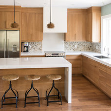 Transitional Kitchen by Kitchens For Keeps