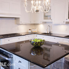 Contemporary Kitchen by All Granite and Marble Corp.