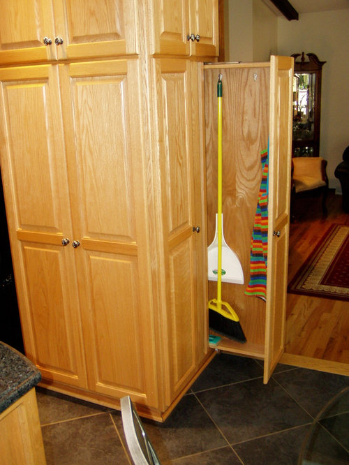 Broom Storage Home Design Ideas, Pictures, Remodel and Decor