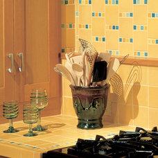 Kitchen by Pratt and Larson Ceramics