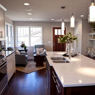 Contemporary kitchen designs - Kitchen - contemporary kitchen idea in Minneapolis