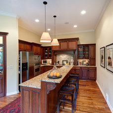 Traditional Kitchen by Tim Marvin Photography