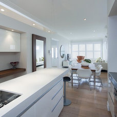 Contemporary Kitchen by Suzanne Allen