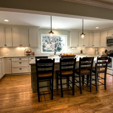 Traditional Kitchen by Oak Hill Building & Remodeling