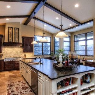 Kitchen in Colorado Santa Barbara Style Home
