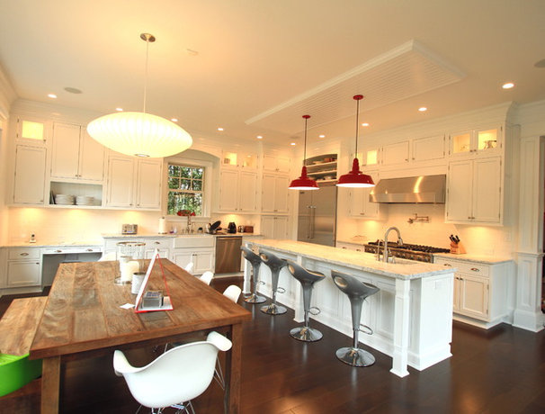 Eclectic Kitchen by Heartwood Corp