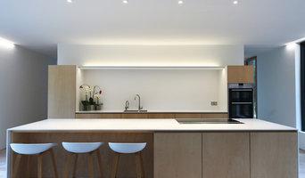 Kitchen in Hi-Macs and premium Birch plywood