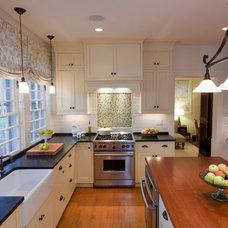 Traditional Kitchen by Ellen McKenna Design