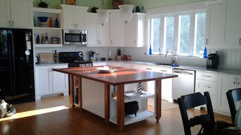 Kitchen in Hymalaya White Granite