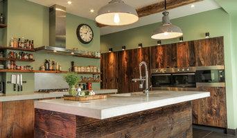 Kitchen in Kingston Edwardian House Refurbishment