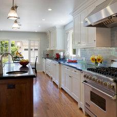 Traditional Kitchen by Lauren Jacobsen Interior Design