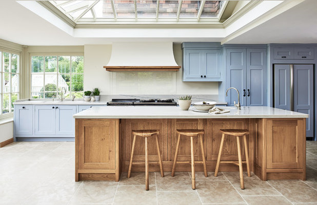 Country Kitchen Kitchen in Small Country Estate