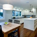 Merricks - Hampton Style Face Framed - Farmhouse - Kitchen - Melbourne - by Steding Interiors ...