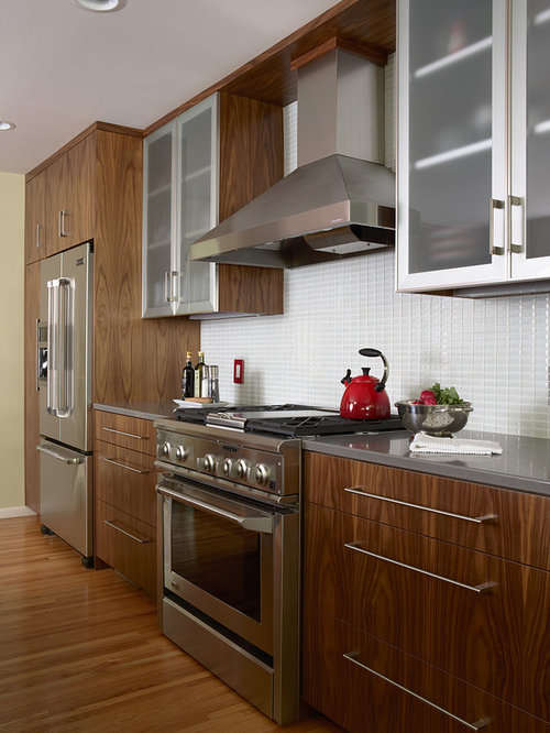 Aluminum Kitchen Cabinet Doors Design Ideas & Remodel Pictures | Houzz