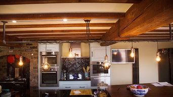 Kitchen Industrial Pipe Wrap Chandelier