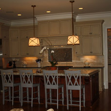 Traditional Kitchen by Carmen Honeycutt Interiors