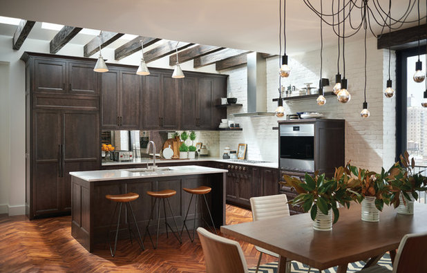 Transitional Kitchen by Sub-Zero, Wolf, and Cove