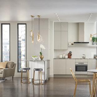 Immagine di una cucina minimal