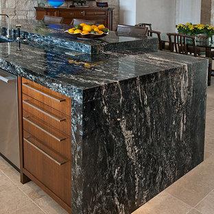 Aurora Borealis Granite Countertops Houzz