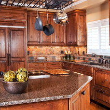 Rustic Kitchen by Interiors by LK