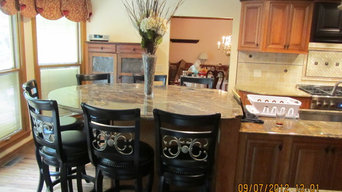 Large Kitchen Island for Seven