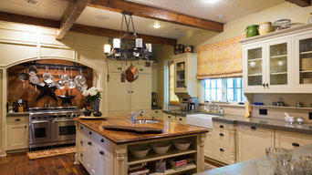 Kitchen Island & Cooking Wall with Concealed Refrigeration
