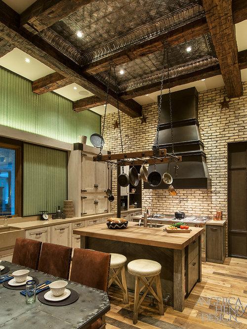 Rustic drop ceiling tiles