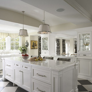 Inspiration For A Timeless Kitchen Remodel In Minneapolis Save Photo Island And See Through Gl Cabinets