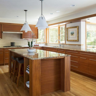 Kitchen Island and work surfaces