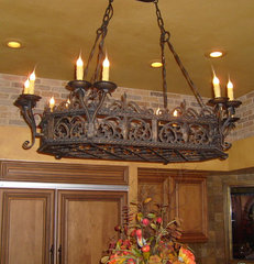 chandeliers by Rustic Decor Store