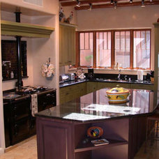 Traditional Kitchen by Charles Ash