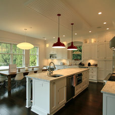 Contemporary Kitchen by Heartwood Corp