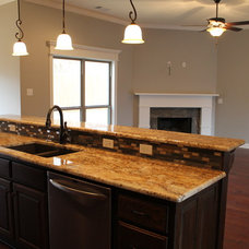 Traditional Kitchen by Hines Homes, LLC