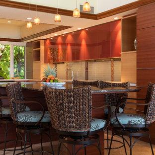 Kitchen Island Kapalua Ironwood Maui Remodel