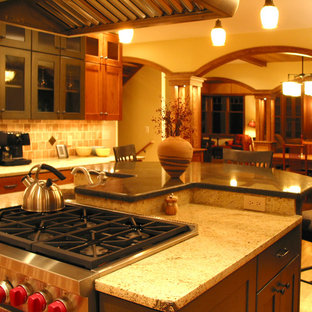 Kitchen Island of Lake Bungalow