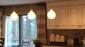 Kitchen Island Pendants on one canopy [ ONE Junction box solution ]