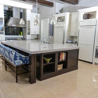 Kitchen Island Terrazzo Concrete Countertop