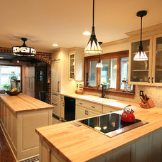 Contemporary Kitchen by Criner Remodeling