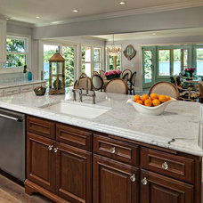 Traditional Kitchen by Ehlen Creative Communications