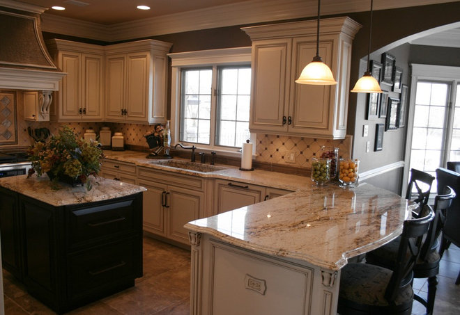 Traditional Kitchen by J. Powless Fine Cabinetry