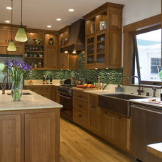 Craftsman Kitchen by Jack Backus Architects