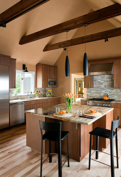 Contemporary Kitchen by jamie florence designs