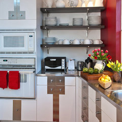 eclectic kitchen by Jane Ellison