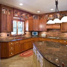 Craftsman Kitchen by Jarrod Smart Construction