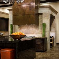 Contemporary Kitchen by JAUREGUI Architecture Interiors Construction