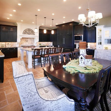 Traditional Kitchen by Joe Carrick Design - Custom Home Design
